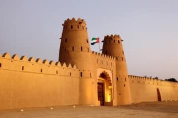 Al Jahili fort in Al Ain, Emirate of Abu Dhabi